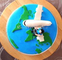 Docinhos da Avó Cake and Party Design Bolo Viagens