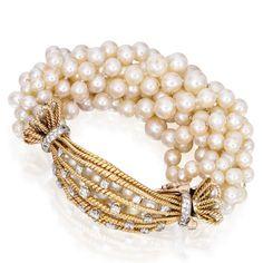 Seaman Schepps Cultured Pearl Bracelet