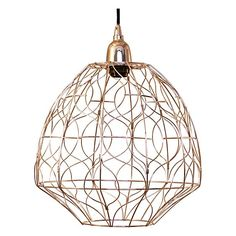 Nickel Piper Pendant Light by LS Collections