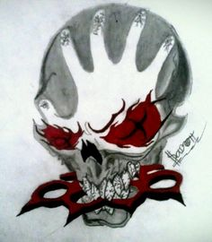 Five finger death punches logo drew by me:-J
