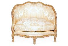 One Kings Lane - The Paris Apartment - French Oversized Bergère