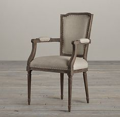 Vintage French Nailhead Chairs | Restoration Hardware - side or end chairs available