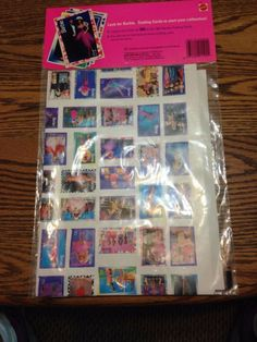 Barbie Trading Card 1991 Collector Poster New   eBay