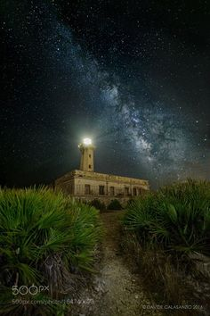 The Milky Way and the Lighthouse  Camera: NIKON D800 Lens: 14.0 mm f/2.8 Focal…