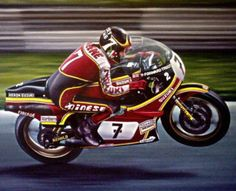 Barry Sheene my hero ! Save for this one man , I would not be riding !