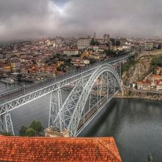 Stamp #530 - Stormy Day  Porto is such a gorgeous city! Interesting fact is that Porto is the only European city with 6 bridges - and they happen to all be right across the Douro river. Thanks for sharing your #stamp! For more awesome travel tips and adventures download the Stamp Travel App today. The link is in our bio!