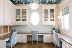DIY Home Decor: Beautiful ceiling design idea Home Office Decor, Diy Home Decor, Office Ideas, Office Designs, Office Furniture, Furniture Design, Business Furniture, Office Table, Ikea Furniture