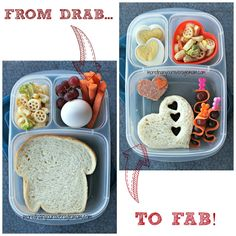 From Drab to FAB! Bento Lunch with @EasyLunchboxes
