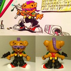 Custom action figures by Stolf - Bamse Bebop