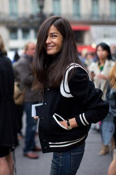 At Stella McCartney, Paris « The Sartorialist The Sartorialist, Looks Style, Style Me, Street Chic, Street Style, Streetwear, Twisted Hair, October Fashion, Look Fashion
