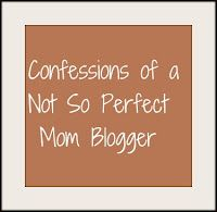 Mommy bloggers aren't perfect...and I'm living proof...come see some of my delicious secrets and share some of your own!