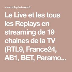 Le Live et les tous les Replays en streaming de 19 chaines de la TV (RTL9, France24, AB1, BET, Paramount Channel, etc) disponible au même endroit et sans publicité. Retrouvez également des séries complètes en VOD (Capitain Marleau, Cherif, Cadice Renoir, Line of Duty, Grantchester, Secret and Lies, etc.) Tv France, Conditioner, Live, Renoir, Pergola, Paint, Table, Photos, Gardens