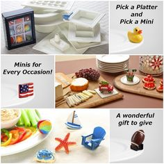Nora Fleming Platters with interchangeable 'minis' for every ocassion