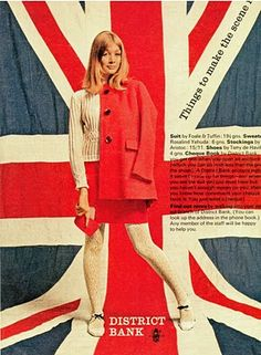 Mod •~• vintage Tuffin & Foale advertisement, London