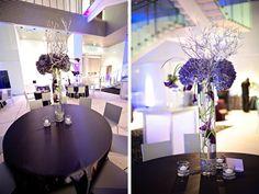 Modern Chic Purple Florida Wedding