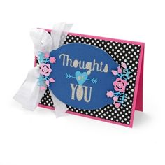 Thoughts of You Card #2  Thinking of that special someone? Tell them how much you appreciate them with a card that's easy, quick and fun to create.