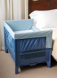 Co-sleeper-This is all we use for at least five months after baby is born. LOVE LOVE