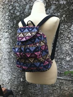 a32e205c17 Small Tribal Aztec Woven Backpack Boho Hippie Tapestry Ethnic Bags Rucksack  Hipster Gypsy Nepali Patterns Hippie Native Design overnight