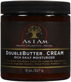 As I Am Double Butter Rich Daily Moisturizer 8 Oz - uhsupply