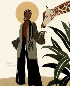 Black Love Art, Black Girl Art, Art Girl, Art And Illustration, Illustrations, Kunst Inspo, Art Inspo, Arte Black, Black Art Painting