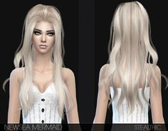 I really love the hair that I find on TSR especially Stealthic's.(http://www.thesimsresource.com/members/Stealthic/) I'm obsessed with the Sims 4 now, btw. Hair by Newsea