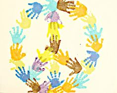 hand print art - Google Search