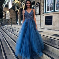 Shop our beautiful collection of unique and convertible long Prom dresses from PromDress.uk,offers long bridesmaid dresses for women in the UK.A Line Blue V Neck Beading Tulle Long Vintage Backless Prom Dresses uk Wedding Dresses Near Me, Blue Evening Dresses, Backless Prom Dresses, A Line Prom Dresses, Tulle Prom Dress, Long Bridesmaid Dresses, Cheap Prom Dresses, Prom Party Dresses, Party Gowns