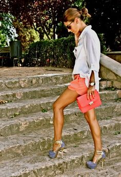 Love the shorts & top