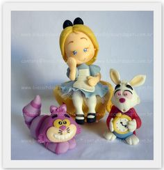 *COLD PORCELAIN ~ Alice in Wonderland by Biscuit da Pati