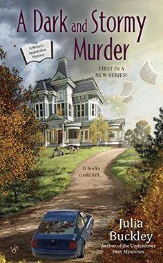 A Dark and Stormy Murder: A Writer's Apprentice Mystery by Julia Buckley http://www.amazon.com/dp/0425282600/ref=cm_sw_r_pi_dp_VTuQwb0FB15VK