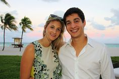 Property Markets Group Hosts Broker Event At Sage Beach. | MetroCitizen Magazine. Rachel Levy, Michael Chackman.