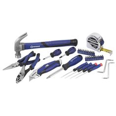 Kobalt 34-Piece Home Tool Set $12.98 w/Free Store Pickup @ Lowe's - HotDeals For the hottest deals check us out at www.hotdeals.com or on FB! www.facebook.com/hotdeals