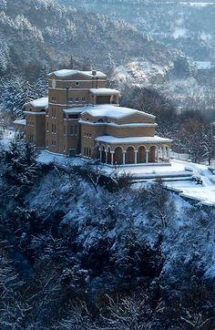Asenovtsi Park in winter - Veliko Tarnovo, Bulgaria   by Martin März
