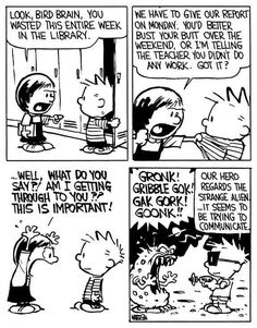 Calvin Und Hobbes, Calvin And Hobbes Quotes, Calvin And Hobbes Comics, Funny Me, Funny Jokes, Hilarious, Jokes Quotes, Memes, Calvin And Hobbes