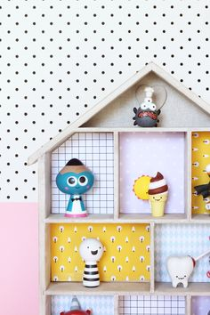 Wallpaper the toy house | DESIGN IS YAY