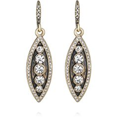 Fair Isle Drop Earrings | Chloe + Isabel ($38) ❤ liked on Polyvore featuring jewelry, earrings, sparkly earrings, sparkle jewelry, drop earrings and chloe isabel jewelry