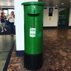 Post box Dublin airport Dublin Airport, Post Box, Ireland, Boxes, Outdoor Decor, Crates, Mailbox, Box, Irish