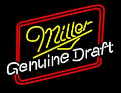 Miller Genuine Draft Hollywood Neon Beer Sign, Miller MGD Neon Beer Signs & Lights | Neon Beer Signs & Lights. Makes a great gift. High impact, eye catching, real glass tube neon sign. In stock. Ships in 5 days or less. Brand New Indoor Neon Sign. Neon Tube thickness is 9MM. All Neon Signs have 1 year warranty and 0% breakage guarantee.