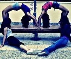 Too bad I'm the only one who can do a backbend ;)
