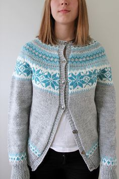 """Nancy"" kofte pattern by Sandnes Garn Submissive, Ravelry, Knitting, Pattern, Sweaters, By, Design, Fashion, Tejidos"