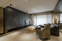 Feuille de pierre et bois dans cet appartement New-Yorkais - NovaMateria