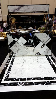 Marble Printed Bar - Cut Out - Dye Cut Bar - Custom printed bar - Event branding - Raise the Bar - Rent this bar for your wedding or event from Marbella Event Furniture and Decor Rental - www.marbellaeventrental.com