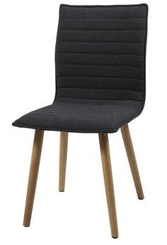 Kaley eetkamerstoel donkergrijs - Robin Design