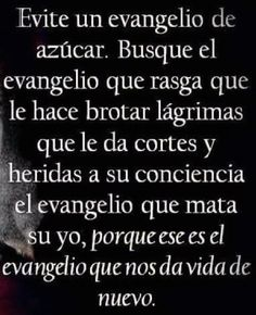 Devocional 26/08/2017. Busca el verdadero evangelio. Quotes About God, Quotes To Live By, Sola Scriptura, Tips To Be Happy, God Loves You, Mindfulness Quotes, Bible Verses Quotes, Inspirational Message, Faith In God