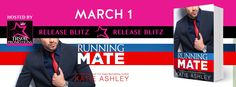Release Blitz - Running Mate by Katie Ashley @KatieAshleyLuv   The race will be a fight to the death finish and thats not even the actual campaign.  Meet Barrett Callahan in Running Mate by Katie Ashley!  NOW AVAILABLE!  Amazon US: http://amzn.to/2lB9GAs  Amazon UK: http://amzn.to/2lW8kBx  Additional Retailers to follow  Full Blurb  The race will be a fight to the death finish and thats not even the actual campaign.  Barrett  The names Barrett Callahan. Yeah that Barrett Callahanthe one the…