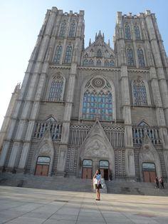 Kyung Hee, South Korea, Seoul, Notre Dame, Barcelona Cathedral, Louvre, University, Korean, Wallpaper