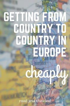 europe is definitely not as expensive as people make it out to be. sure, it may cost a lot to get there (if you don't follow my tips on finding a cheap flight ;) but you can get from country to country for as low as $5 one way!   in this video, i am talking about ways to get around europe, as well as my favorite apps and websites to use for your research.