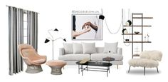 """""""Untitled #248"""" by annie-qiu on Polyvore featuring interior, interiors, interior design, home, home decor, interior decorating, Home Decorators Collection, Serge Mouille, &Tradition and Menu"""