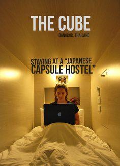 The Cube Hostel, Bangkok, Thailand l @tbproject