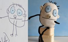 Turn a childs drawing into a new toy!